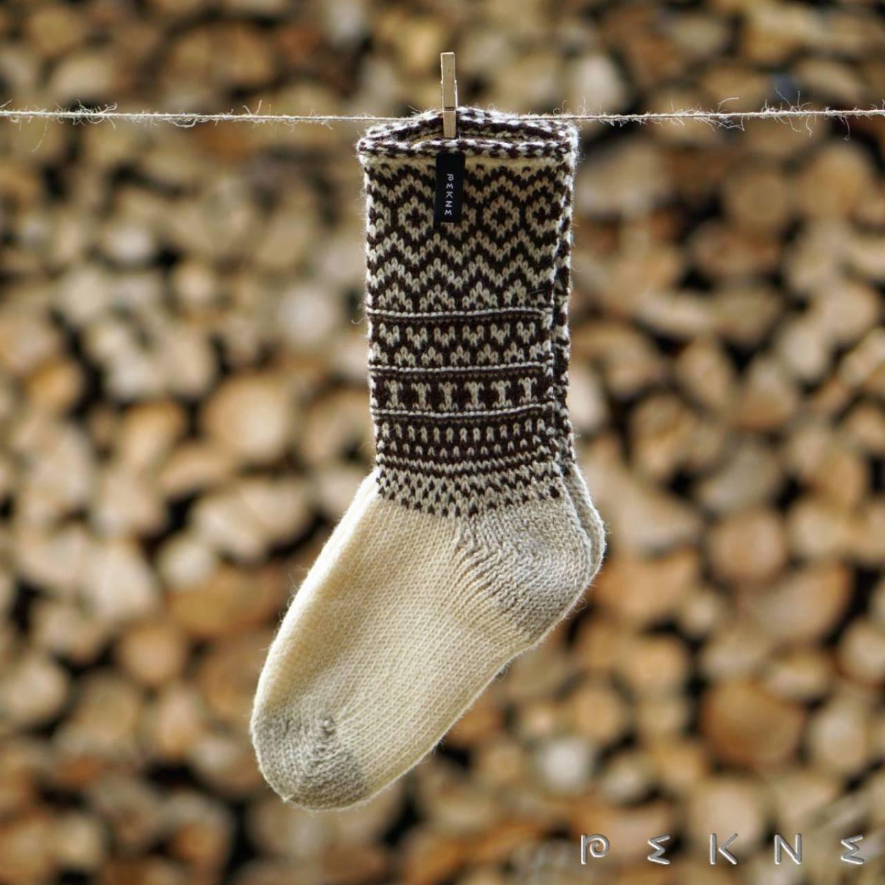 Ponožky z ovčej vlny SÚČA