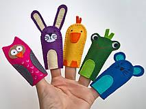 Hračky - Zvieratká 5. - prstové bábky - 9097257_