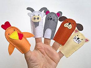 Hračky - Zvieratká 4. - prstové bábky - 9097241_