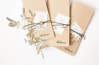 Papiernictvo - Herbarium mini diary - 9096748_