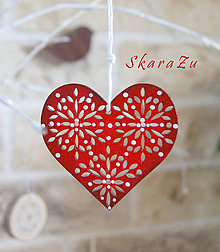 Dekorácie - Flowers in heart - 9098783_