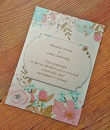 Papiernictvo - svadobné oznámenie - 9097280_