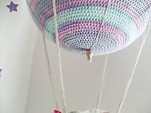 Hračky - Háčkovaný balón (30cm) zľava 20% - 9097904_