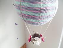 Hračky - Háčkovaný balón (30cm) zľava 20% - 9097906_