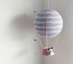 Hračky - Háčkovaný balón (30cm) zľava 20% - 9097910_