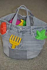 Veľké tašky - riflova taska - 9100248_