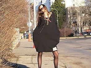 Šaty - Origo šaty čierna S - 9099440_