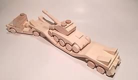 Hračky - Auto na prevoz tanku - 9099897_