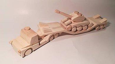 Hračky - Auto na prevoz tanku - 9099894_