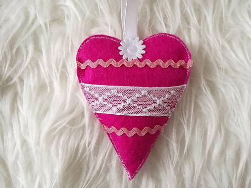 Srdiečko z filcu.   susugo - SAShE.sk - Handmade Dekorácie dde56af5e1e