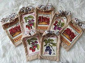 Úžitkový textil - Ekologické vrecúška do kuchyne. - 9097983_