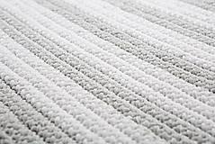 Úžitkový textil - Háčkovaný koberec so strapcami - scandinavian living - 9097045_