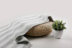 Úžitkový textil - Háčkovaný koberec so strapcami - scandinavian living - 9097057_