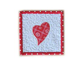 Úžitkový textil - Prestieranie Valentínske malé - 9104007_