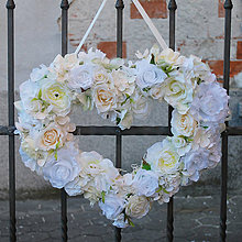Dekorácie - Dekoračné srdce na svadbu - 9101447_