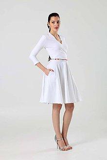 Šaty - Šaty Cross s kruhovou sukňou - 9101144_
