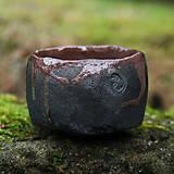 Nádoby - RAKU čajová miska - 9106016_