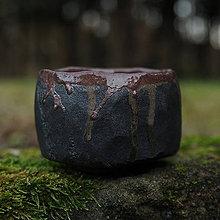 Nádoby - RAKU čajová miska - 9106015_