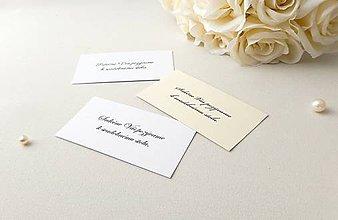 Papiernictvo - Perleťové pozvánky - 9101889_