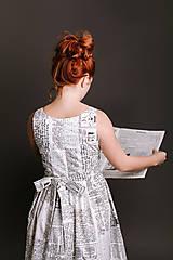Šaty - Šaty ANNA novinové - 9101314_