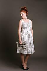 Šaty - Šaty ANNA novinové - 9101317_