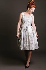 Šaty - Šaty ANNA novinové - 9101318_