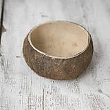 Iný materiál - Kokosový orech hnedý - 9104587_
