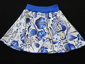 Detské oblečenie - Folk sukňa - 9103446_