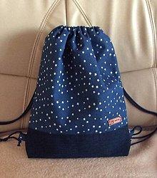 Batohy - riflový batoh (hviezdičky) - 9103925_
