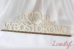 Dekorácie - Darček pre novomanželov - 9101410_