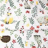 Textil - na lúke; 100 % bavlna, šírka 160 cm, cena za 0,5 m - 9102870_