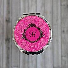 Zrkadielka - Zrkadielko s monogramom - 9101275_