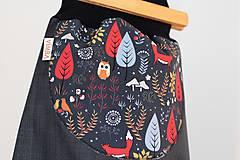 """Detské oblečenie - Softshellky """"rozprávkový les"""" - 9105234_"""