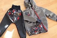 """Detské oblečenie - Softshellky """"rozprávkový les"""" - 9105235_"""