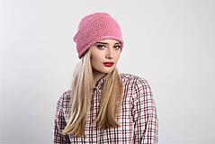 Čiapky - Růžová čepice - 9100815_