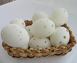 Dekorácie - Madeirové kačacie vajíčka - nezdobené (10ks) - 9101693_