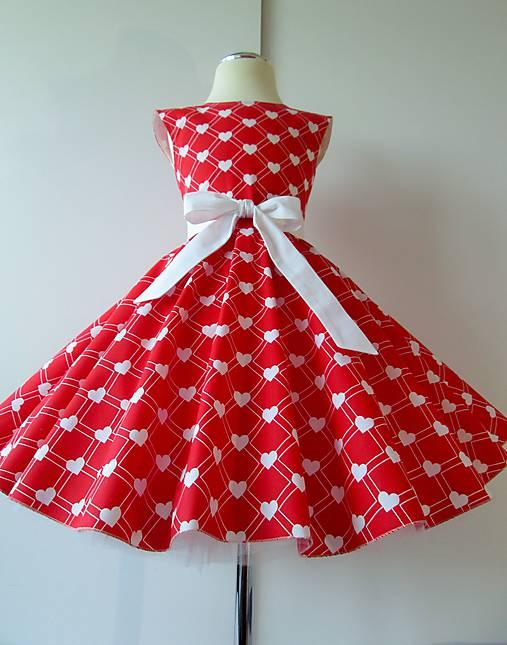 6d1860d01759 Detské retro šaty 134-146   hand made shop - SAShE.sk - Handmade ...