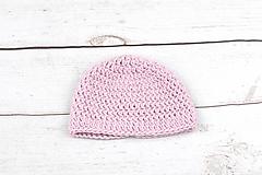 Detské čiapky - Ružová čiapka zimná EXCLUSIVE FINE - 9101946_