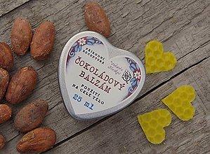 Drogéria - Čokoládový balzam srdiečko - 9102687_