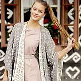Iné oblečenie - Hrejivé pončo ČIČMANY z ovčej vlny/merino (veľ. UNI, rôzne farby) (Upresním farbu v poznámke k objednávke) - 9105568_