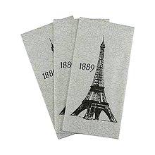 Papier - kapesník Paris - 9102948_