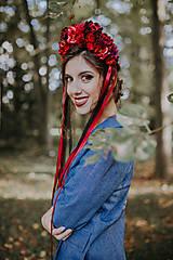 Ozdoby do vlasov - Svadobná parta