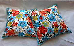 Úžitkový textil - Prestieranie - rozsypané kvety - 9105580_