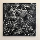 Obrazy - Obraz Abstract 100x100cm Good vs Evil - 9102305_