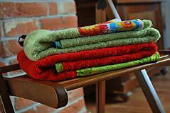 Úžitkový textil - OSUŠKA/UTERÁK - zošívaná/ý - 9105732_