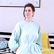 Šaty - iffi dospelácke Low back