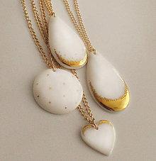 Náhrdelníky - Pure porcelain. - 9105014_