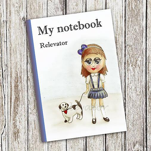Venčenie psa - dievčenský zápisník (4)