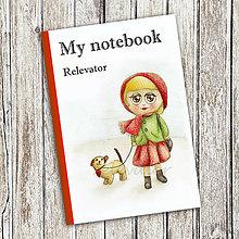 Papiernictvo - Venčenie psa - dievčenský zápisník (3) - 9102466_