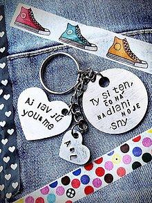 Kľúčenky - Ty si ten, čo má na dlani moje sny ... - 9111352_